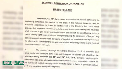 Election Commission of Pakistan, PPP, PTI, PML(N), APML,