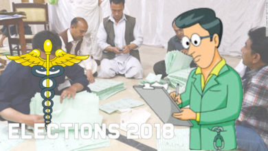 Pakistani elections 2018 results, doctors advice