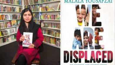 Malala Yousafzai, Book, We Are Displaced