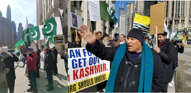 Chicago Kashmiri Demonstration