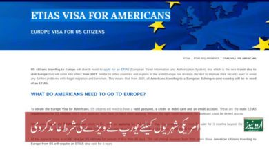 Europe Visa for US Citizens